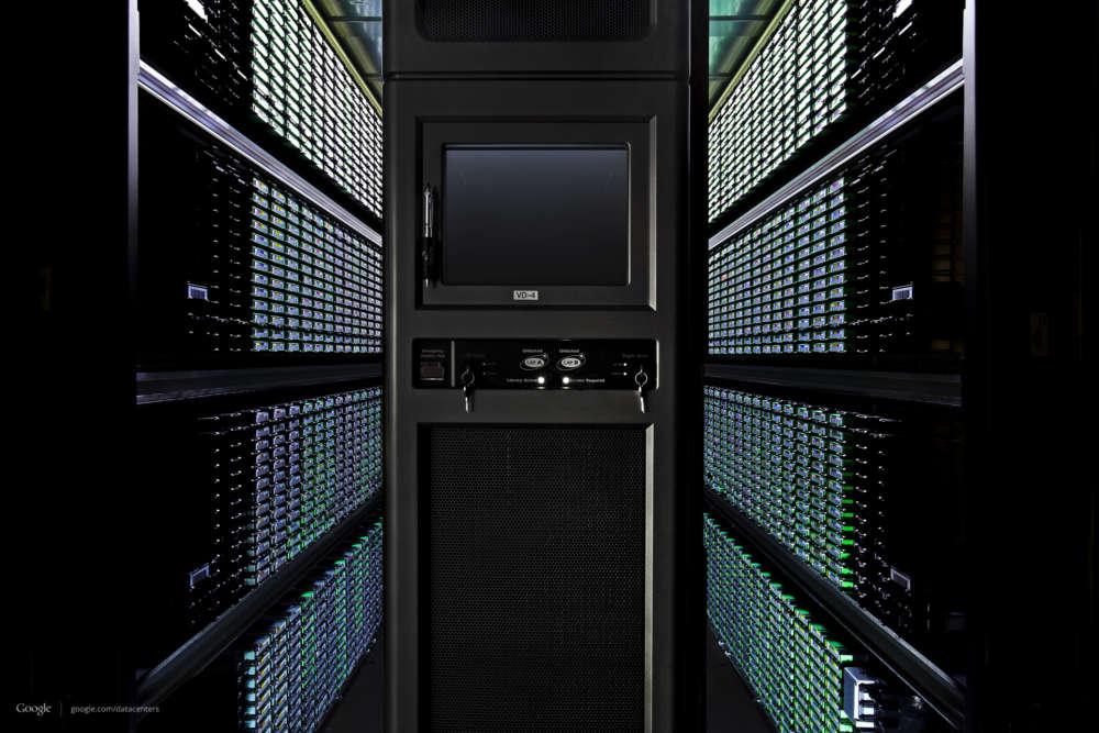 google data storage centre
