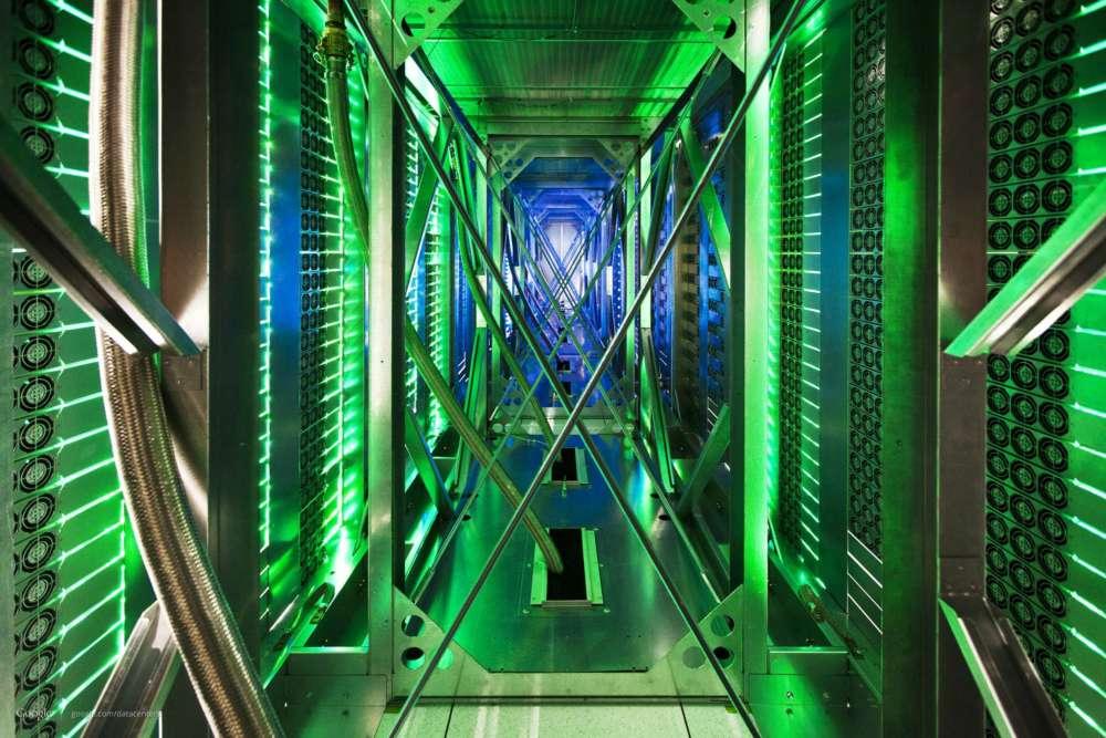 google data centre green light