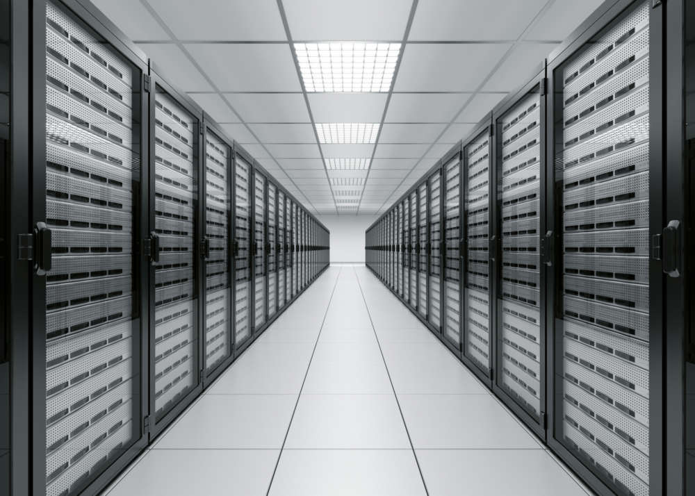 microsoft data centre photograph