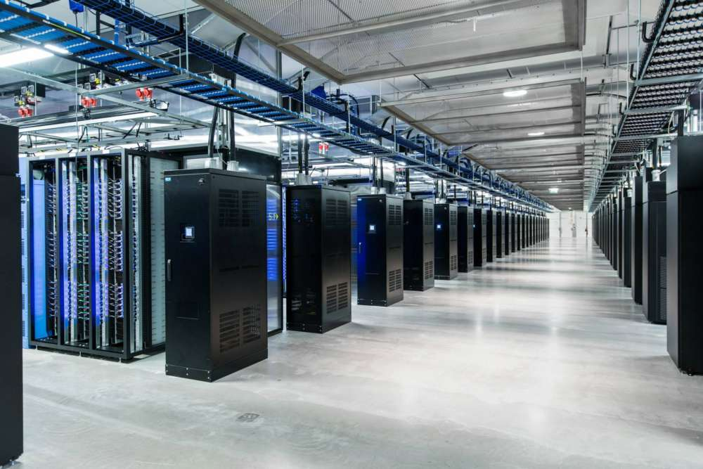 facebook data storage