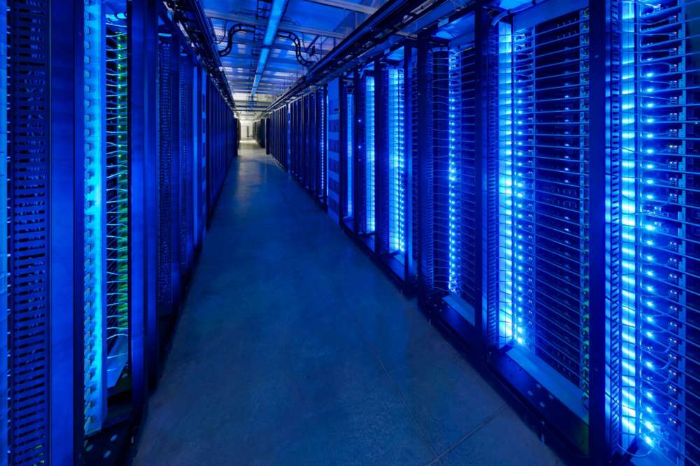 beautiful data centre