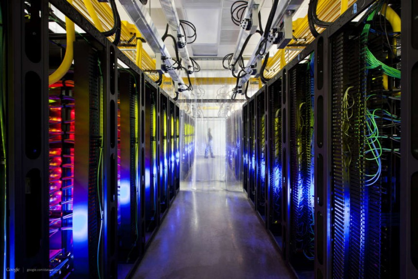 google data centre photograph