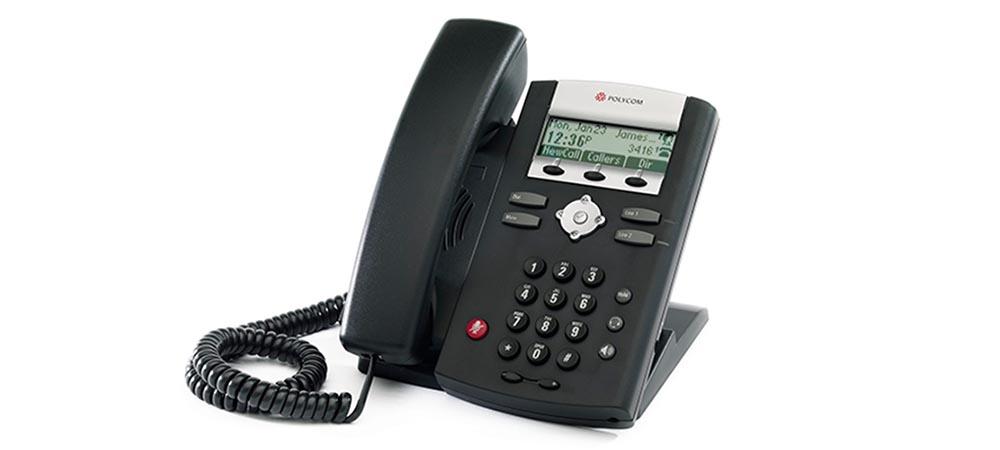 Polycom SoundPoint IP 321 handset