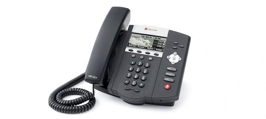 Polycom SoundPoint IP 450 handset