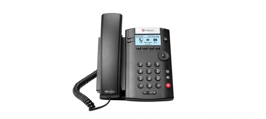 Polycom VVX 201 handset