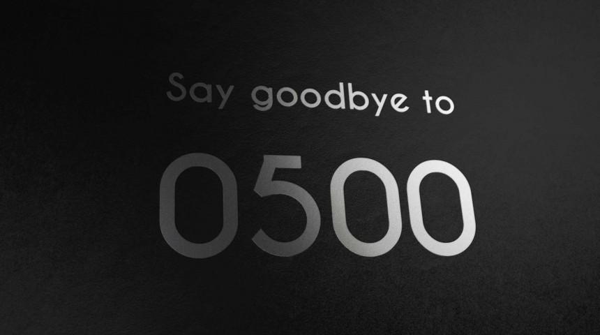 0500 Number Range