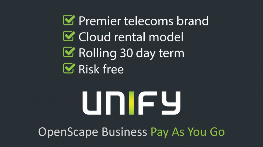 OpenScape Business Pay As You Go