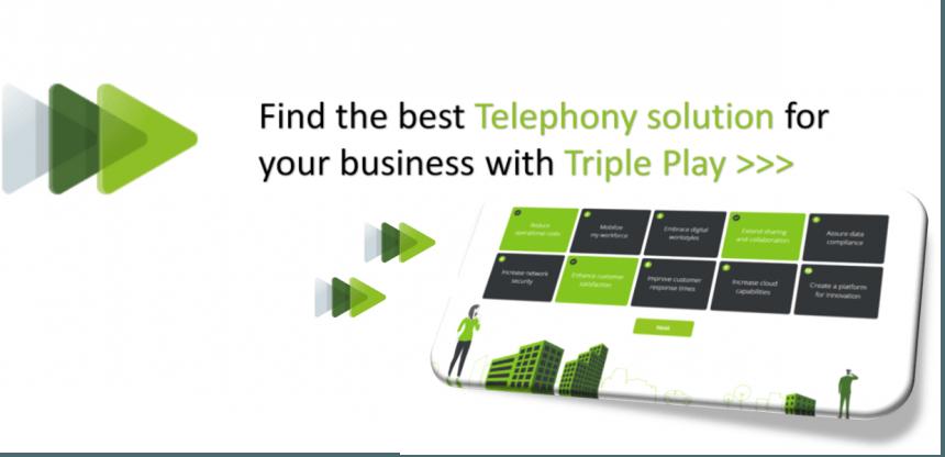 Triple play homepage banner