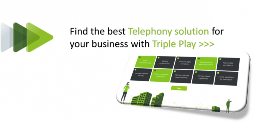Triple play homepage banner