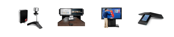 Conference with Polycom handset